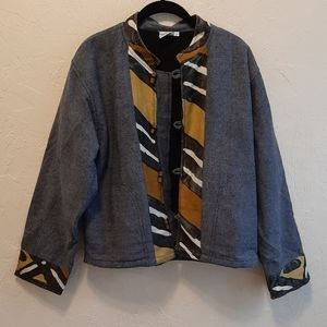 Vintage Ethnic Boho Tribal Nepal Jacket M-L